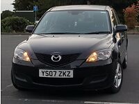 *New Facelift* 2007 Mazda 3 KATANO Long MOT, HPI Clear, 2 Keys