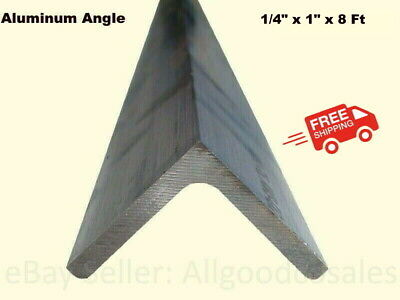 Aluminum Angle 14 X 1 X 8 Ft Length Unpolished Alloy 6061 90 Stock