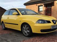 Yellow 2005 3 Door Seat Ibiza 2.0 Sport