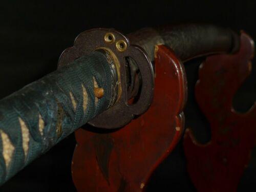 """KOSHIRAE of WAKIZASHI (sword) : EDO : 29.9 × 22.6 """" 380g"""