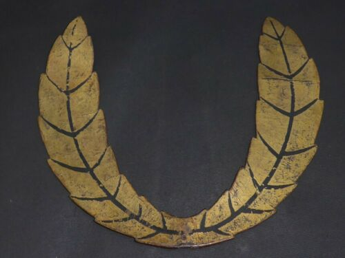 "HIIRAGI MAETATE of KABUTO (helmet) of YOROI (armor) : EDO : 9.8 × 10.6 "" 600g"