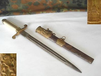 Original German Ally Officer S Parade Dagger   Rare