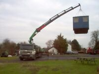 shipping container transport,hot tubs etc