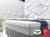 brand new vacuumed sealed and rolled super king size Slumberland Rollo Hybrid Duo Mattress rrp £699