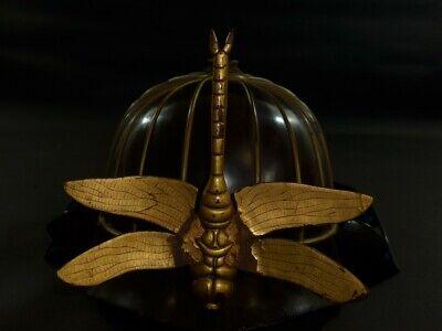 Wooden Kabuto Display Stand Samurai Yoroi Armor Edo Busyo Sword Helmet Stand F//S