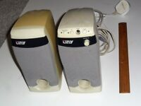 Stereo Computer Speakers (Mains Powered), Model: TINY CPR-50