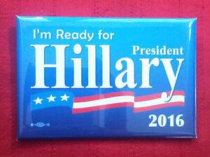 Campaign Button Hillary Clinton for President 2016 (# 876) - <span itemprop='availableAtOrFrom'>Wien, Österreich</span> - Campaign Button Hillary Clinton for President 2016 (# 876) - Wien, Österreich