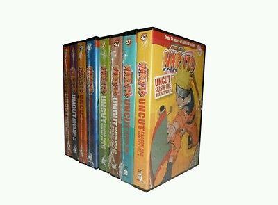 Naruto UNCUT Complete Original DVD Series, All 220 Episodes Seasons 1-4