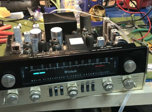 McIntosh MX-110 MX110 Restoration and Alignment service