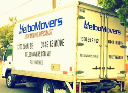 Melbo movers SINCE 2001 serving all suburbs