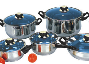 Stainless Steel Cookware Cuisinart Kirkland Ebay