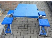 4 Seat Camping Table - LOCAL FREE delivery