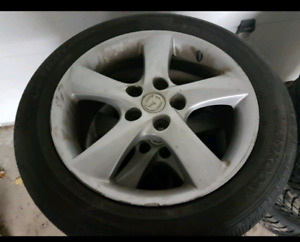 215 45 17 summer tires on 5×114.3×17 mags