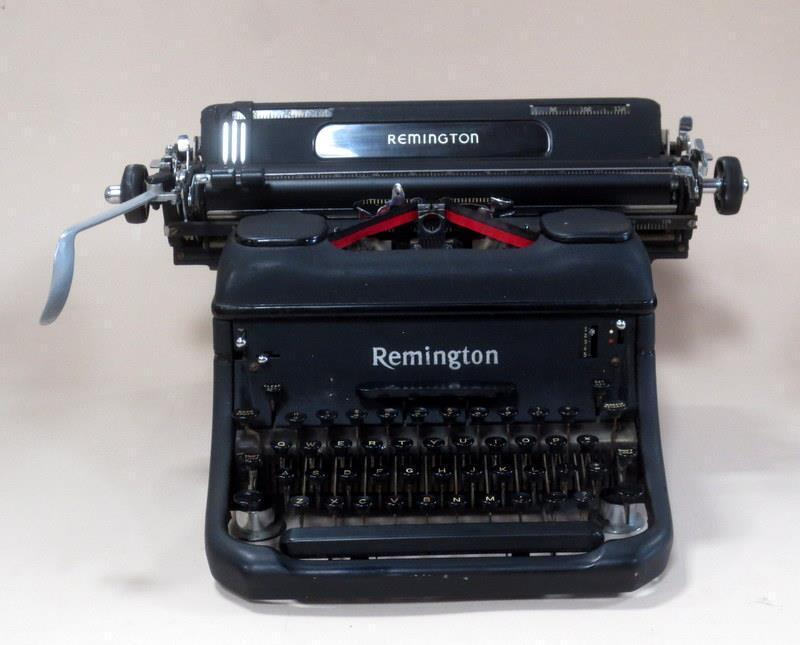 Rare Antique Remington Typewriter Excellent Cond. Serial # JD118016