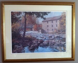 Peter Etril Snyder Numbered and Pencil Signed Framed Prints (2) Cambridge Kitchener Area image 1