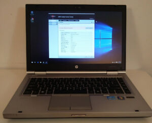 HP Elitebook Core i7 HD screen laptop with new SSHD