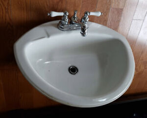 Bathroom Sink with Danze Faucets