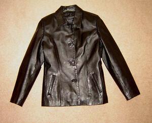 Leather Jacket, Tommy Hilfiger Jacket - sz S / Dresses sz 6, M