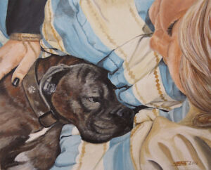 ** Pet Paintings ~ Ready for Christmas **