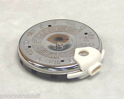 NEW YORK PRO CHROMATIC PITCH PIPE C-C w/ NOTE SELECTOR
