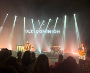OLD DOMINION - AMAZING FRONT FLOOR and PIT TICKETS !!!