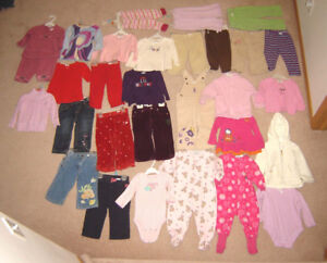 Girls Clothes, Dresses - 12, 12-18, 18, 18-24 mos. / Shoes 3 to9