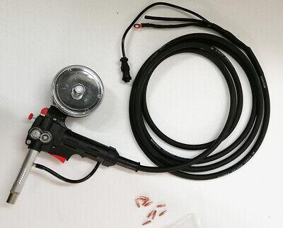Techtongda New 5m Cable Dc24 Aluminum Spool Gun Fit Miller210 Spoolmate 3035