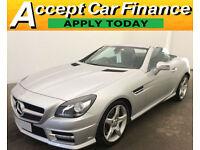 Mercedes-Benz SLK200 FROM £88 PER WEEK!