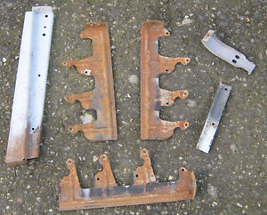 1947 and 48 Chevy car grill mounting brackets.