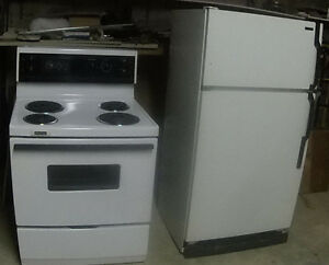 Frigidaire Stove and  FRIDGE McClary