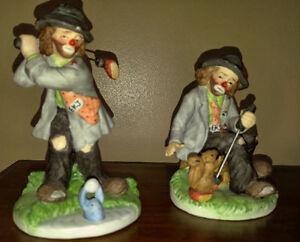 5 Emmett Kelly Figurines - Great Condition! London Ontario image 3