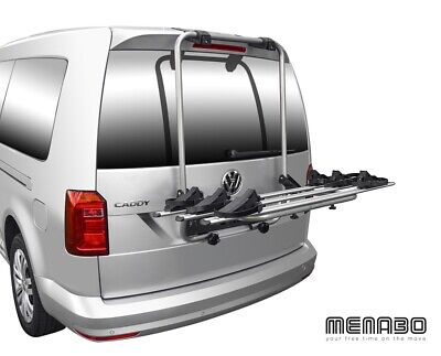 Menabo Shadow Trasero Soporte para Bicicletas VW Caddy 4 Maletero 3 2015+