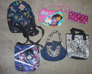 6 small bags for girl