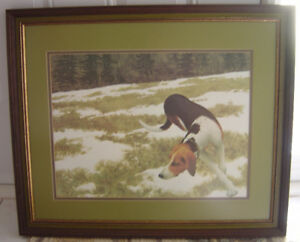 """Hound In The Field"" Print By Alex Colville"