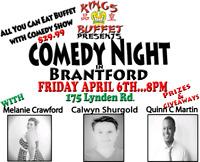 Comedy Night in Brantford