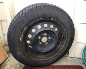 Set of 4 Winter Tires  with Rim for Sale $180