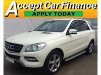 Mercedes-Benz ML 250 FROM £124 PER WEEK!