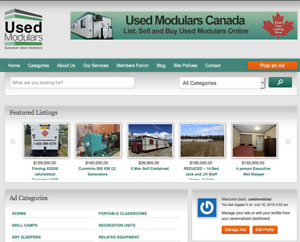 USED MODULARS GRANDE PRAIRIE- List and Buy Used Modulars