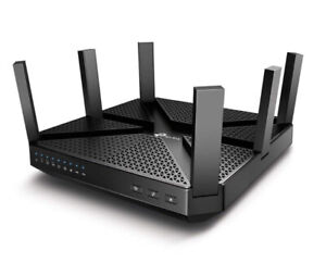 TP-Link AC4000 Tri Band Wifi Router- works with IFTTT, Antivirus