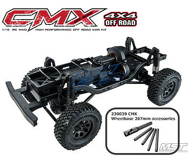 *Pre order* MST CMX 1/10 4WD High Performance Off-Road Car L KIT 532144 New