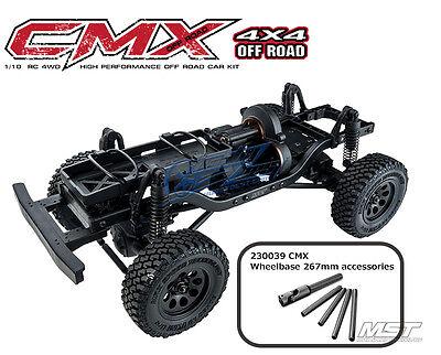 MST CMX 1/10 4WD High Performance Off-Road Car L KIT 532144 New