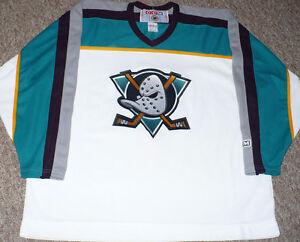 Mighty Ducks of Anaheim 1997-2000 Alternate CCM Jersey size XXL