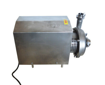 Food Grade Centrifugal Pump Sanitary Pump 10 Tonh Delivery 304 Stainless Steel