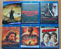 18 blu ray discs - selling as a lot