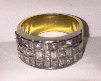 2.1ct Diamond Dress Ring Bronte Eastern Suburbs Preview