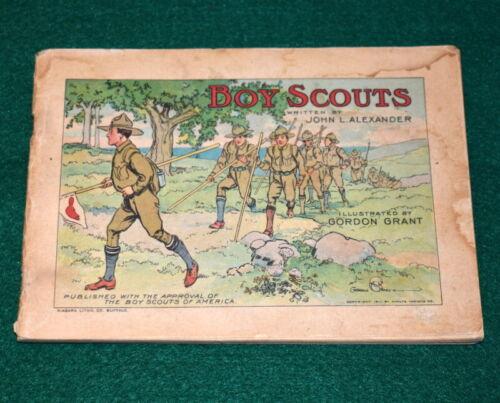 VINTAGE BOY SCOUT- 1911 TAPIOCA BOY SCOUT BOOKLET - VERY SCARCE
