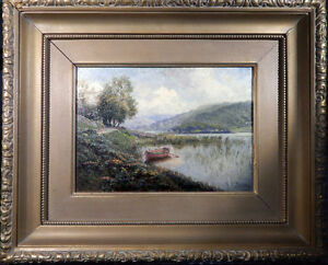 Gertrude Eleanor Spurr -- vintage Canadian oil painting listed