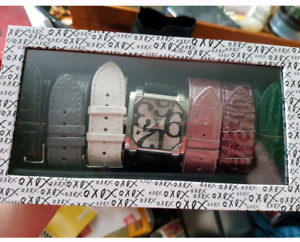 XOXO watch set with 7 interchangeable bands (brand new)