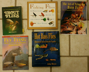 Fly-tying and fly-fishing books
