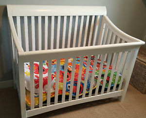 Crib and Mattress